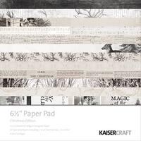 "Kaisercraft Paper Pad 6.5""X6.5"" 40/Pkg-Christmas Edition"