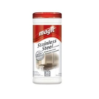Magic 3060 Stainless Steel Wipes, Count of 30