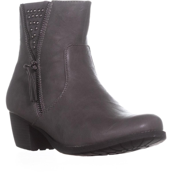 Easy Street Rylan Studded Ankle Boots, Grey - 7.5 w us