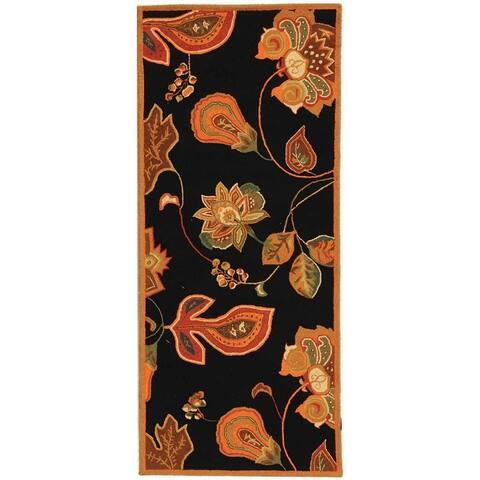 SAFAVIEH Hand-hooked Chelsea Jaleesa Country Oriental Wool Rug