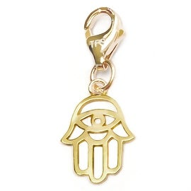 Julieta Jewelry Hamsa Hand Outline Clip-On Charm