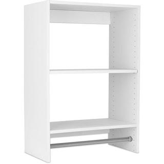 Modular Closets Plywood Medium Hanging Closets Organizer Section