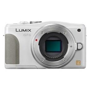 Panasonic Lumix DMC-GF6 Mirrorless Micro Four Thirds Digital Camera Body Only (White) (International Model)
