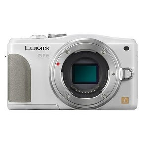 Panasonic Lumix DMC-GF6 Mirrorless Micro Four Thirds Digital Camera Body Only (White) (International Model)