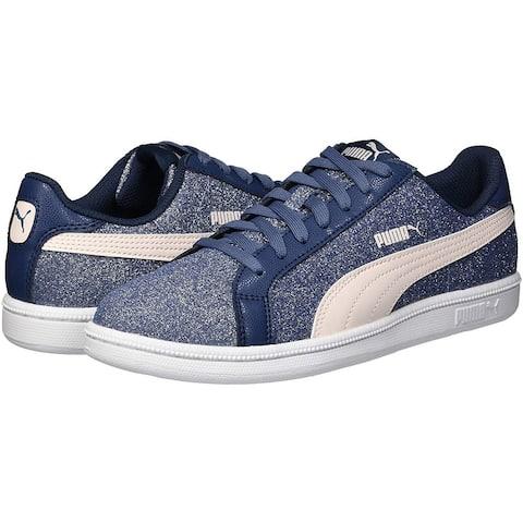 PUMA Unisex-Child Smash Glitz Sneaker - 4