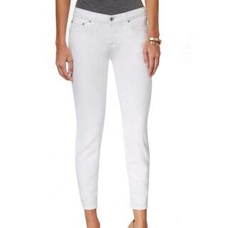 Big Star NEW White Women's Size 26X26 Capri Cropped Stretch Jeans