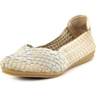 Easy Spirit e360 Gibby Round Toe Canvas Flats
