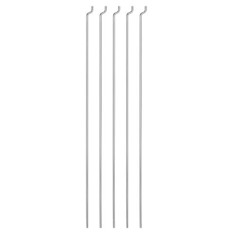 5PCS 1.2mm x 180mm (7 inch) Steel Z Pull/Push Rods Parts for RC Airplane Boat