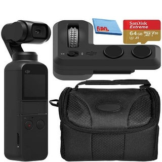 Link to DJI Osmo Pocket Handheld 3-Axis 4k Gimbal Stabilizer + Controller Similar Items in Surveillance