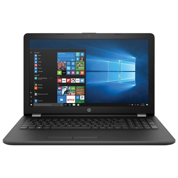 "Refurbished - HP 15-bs021nr Touchscreen 15.6"" Laptop Intel Pentium N3710 4GB 500GB Win10"