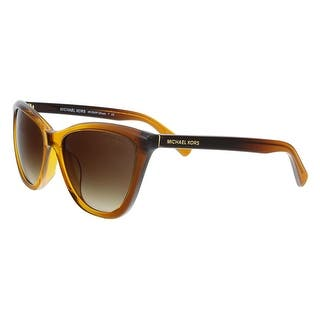 f4f7423315 Michael Kors MK2040F 321813 DIVYA Amber Gradient Cat Eye Sunglasses -  57-17-140