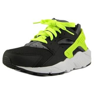 Nike Huarache Run (GS) Youth Round Toe Synthetic Black Running Shoe