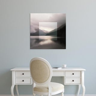 Easy Art Prints Laura Marshall's 'Framed Landscape II' Premium Canvas Art