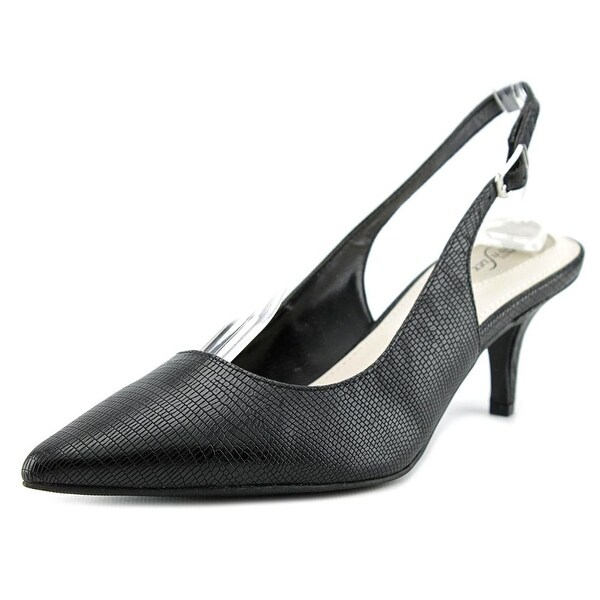 Alfani Babbsy Women Pointed Toe Synthetic Slingback Heel