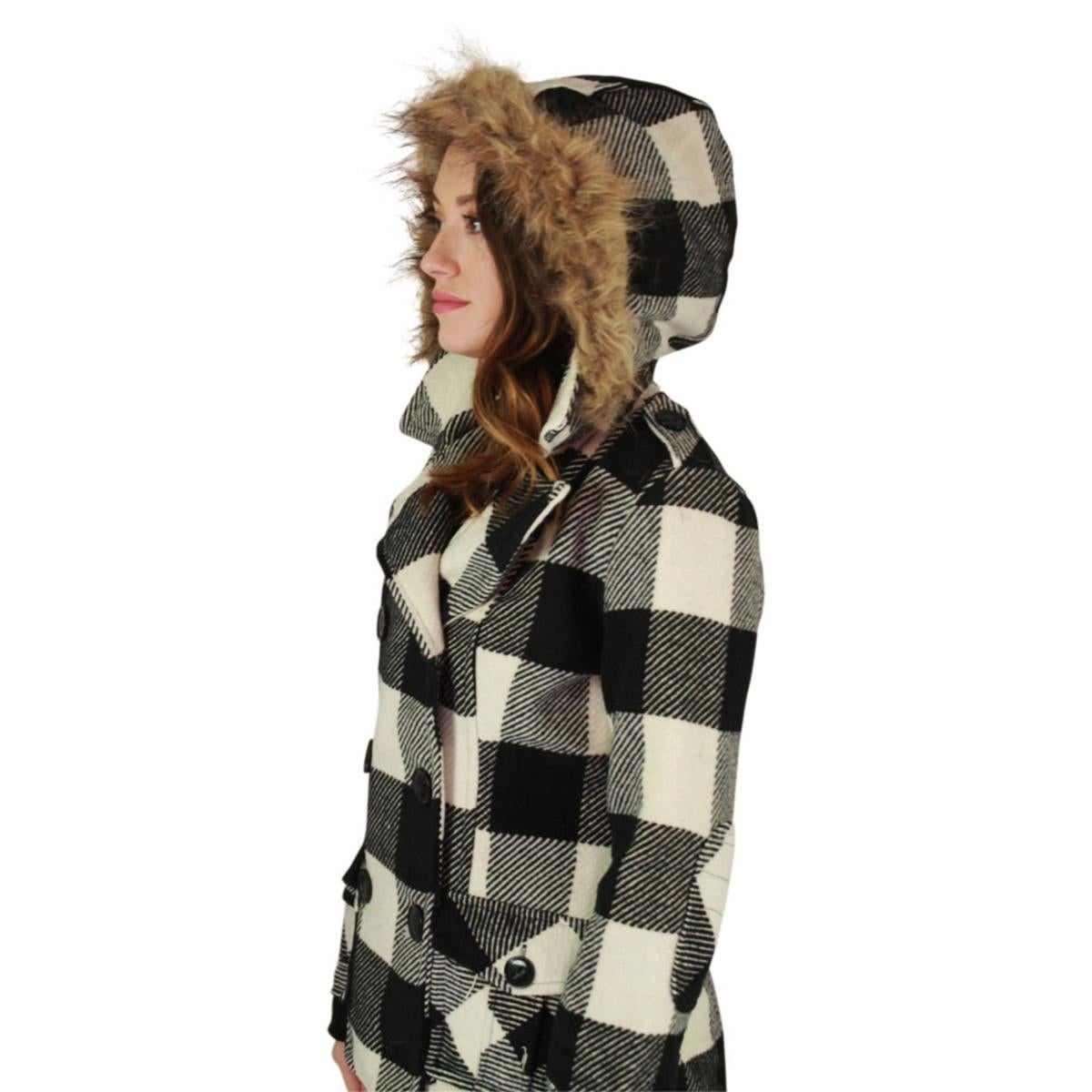 0f9d7ee6522f6 Shop Urban Republic Womens Juniors Pea Coat Double Breasted Winter - Free  Shipping On Orders Over $45 - Overstock - 24152148