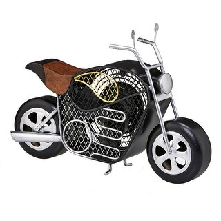 Deco Breeze DBF5410 Figurine Fan - Motorcycle - multi