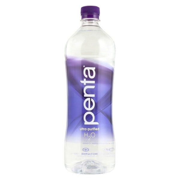 4419c6de53 Shop Penta Purified Water Ultra Purified Water - Case of 12 - 1 Liter -  Free Shipping Today - Overstock - 20514056