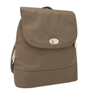 Travelon Women's Anti-Theft Tailored Backpack (Option: Sable)