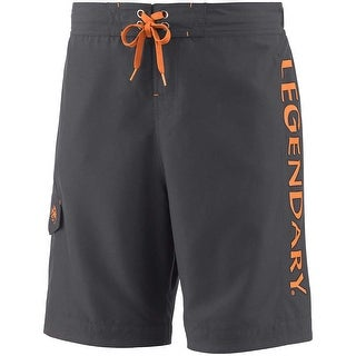 Legendary Whitetails Men's Big Game Camo Matrix Swim Shorts