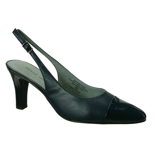 David Tate NEW Blue Women's Shoes Size 12N Grace Slingback Pump