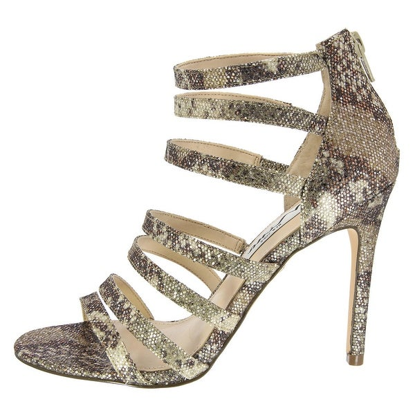 Nina Womens Chelise Open Toe Formal Strappy Sandals
