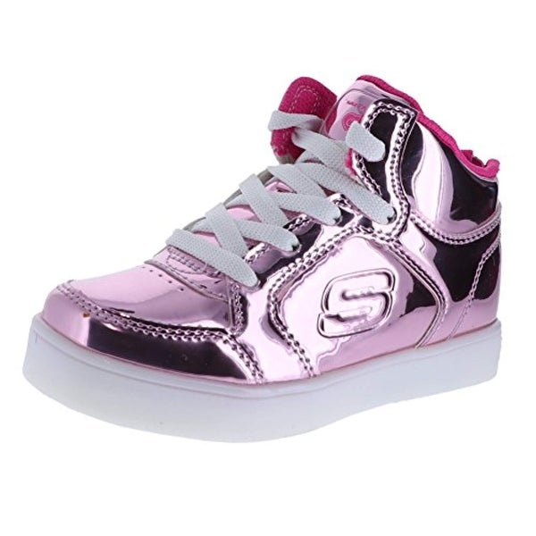 1be15d291c4 Shop Skechers Energy Lights Lil Dazzlers Pink Infant Girls High-Top ...