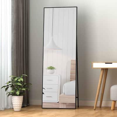 Rectangle Aluminum Alloy Framed Full-Length Mirror
