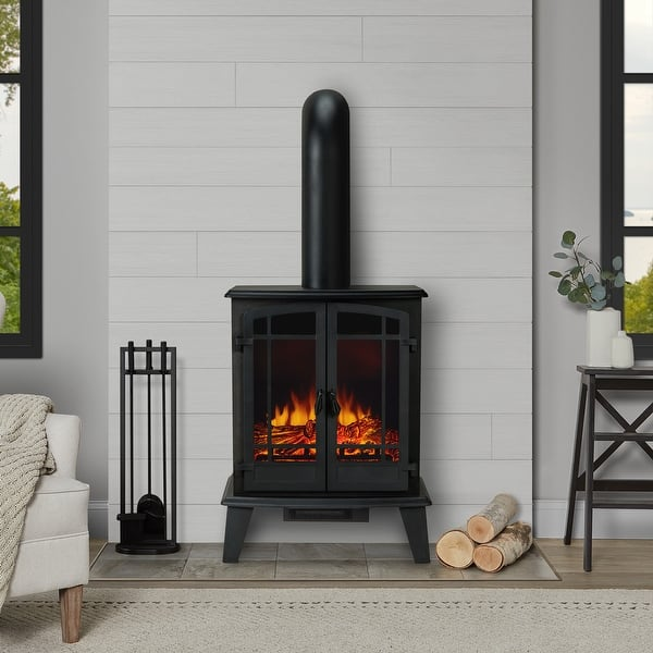 Foster Stove Electric Fireplace Overstock 31872220