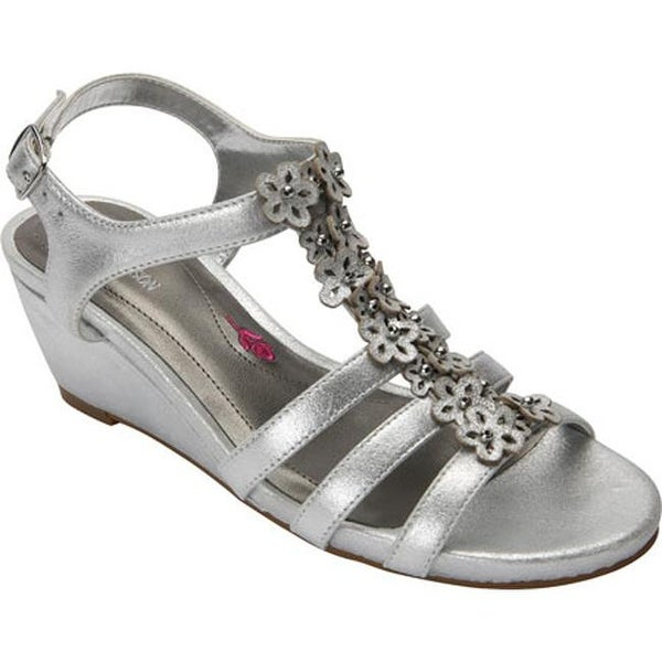2a420c8bd Shop Ros Hommerson Women's Wanda Sandal Dusty Silver Leather - On Sale - Free  Shipping Today - Overstock - 11795921