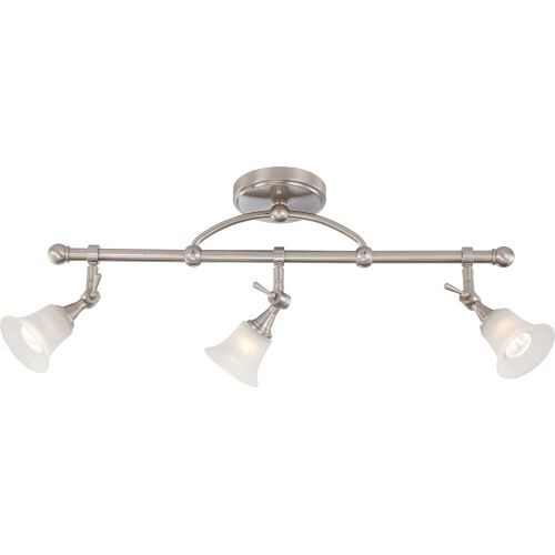 "Nuvo Lighting 60/4154 Surrey 3 Light 5-1/2"" Wide Fixed Rail Ceiling Fixture"