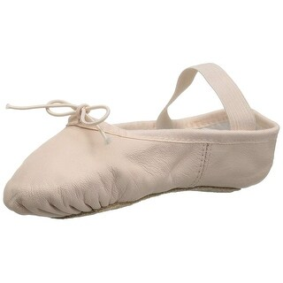 Bloch Baby Girl Dansoft Leather Pull On Ballet Flats