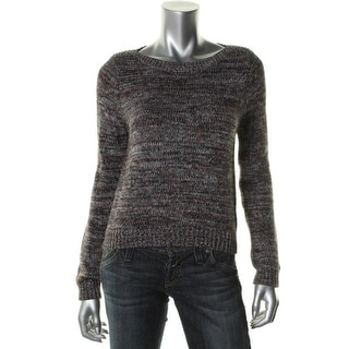 525 America Womens Marled Boatneck Pullover Sweater - M