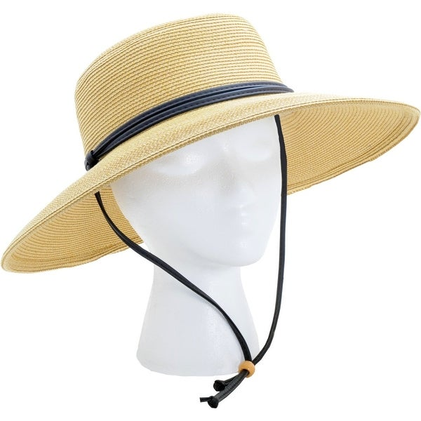671d8417e35 Shop Sloggers 442LB01 Women s Wide Brim Braided Sun Hat