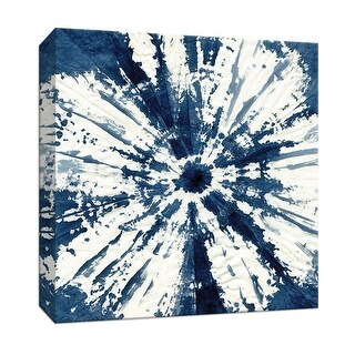 "PTM Images 9-147461  PTM Canvas Collection 12"" x 12"" - ""Shibori Circle"" Giclee Patterns and Designs Art Print on Canvas"