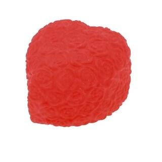 Household Ornament LED Night Light Lamp Red Heart Rose Shape