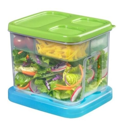 Rubbermaid 1806179 Lunch Box Salad Kit