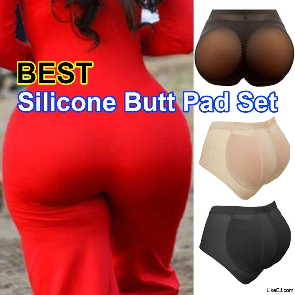 Womens Silicone Padded Butt Lifter Panties Hip Enhancing Booster Underwear Shorts