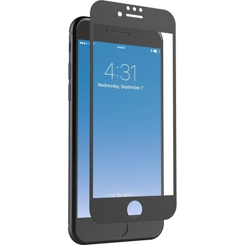 Zagg ip7bls-bk0 invisibleshield glass+ luxe