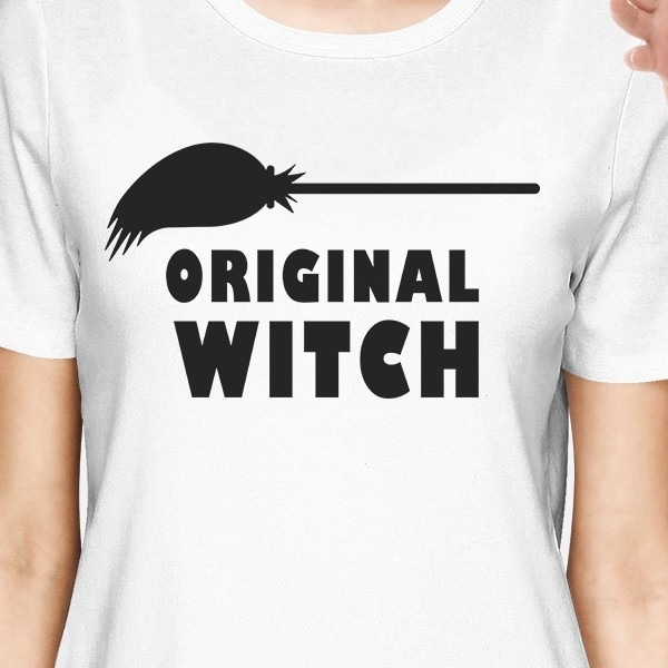 Witch In Training /& Original Witch Baby Gift Set With Baby T-Shirt /& Mothers T-Shirt
