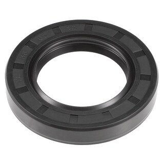 Oil Seal, TC 38mm x 62mm x 10mm, Nitrile Rubber Cover Double Lip - 38mmx62mmx10mm