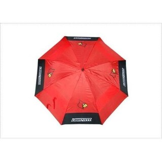 Team Golf 24269 University of Louisville 62 in. Double Canopy Umbrella