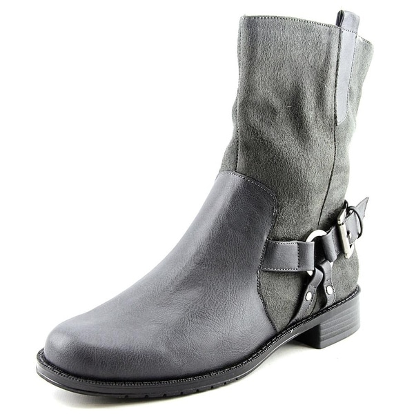 Aerosoles Outrider Women Round Toe Canvas Mid Calf Boot