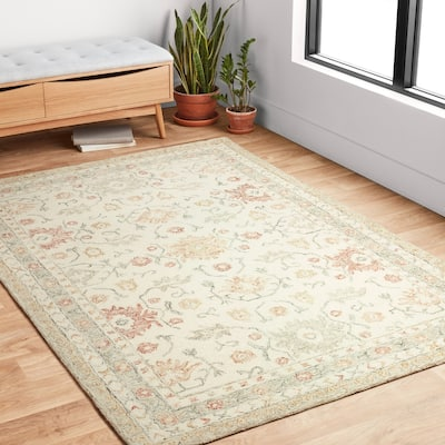 Cotton French Country Area Rugs