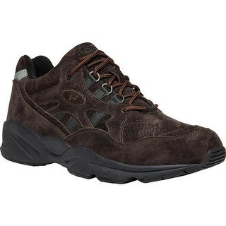 Propet Men's Stability Walker Brown Suede