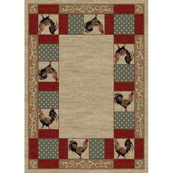 American Destination Barnyard Country Living Area Rug. Opens flyout.