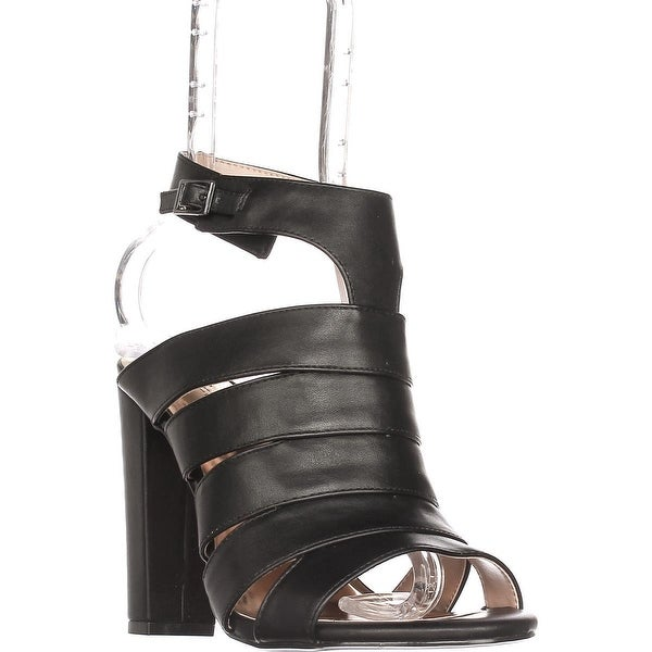 TS35 Ebbony Dress Strappy Sandals, Black - 7.5 w us