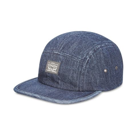 Levi's Mens Denim Camp Baseball Cap - One Size