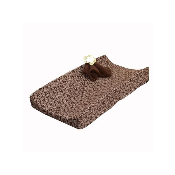Cocalo Changing Pad Cover Sherpa Printed - Brown Multi
