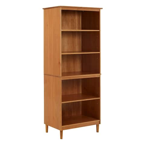 Carson Carrington 70-inch Tall Solid Wood Bookcase