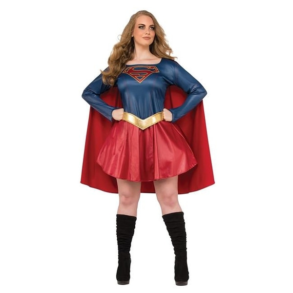 db7c040661e Rubies 272106 Supergirl Tv Adult Plus Costume